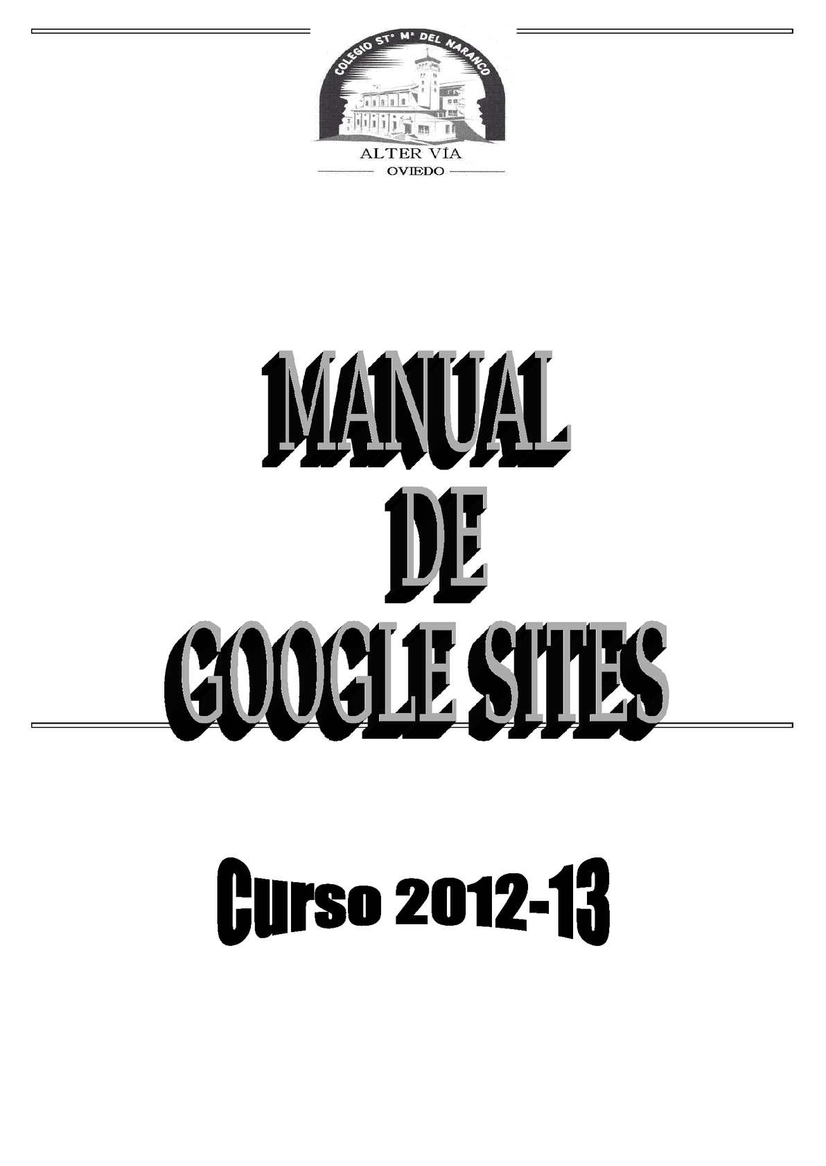 Libros Googles Calaméo Manual De Google Sites