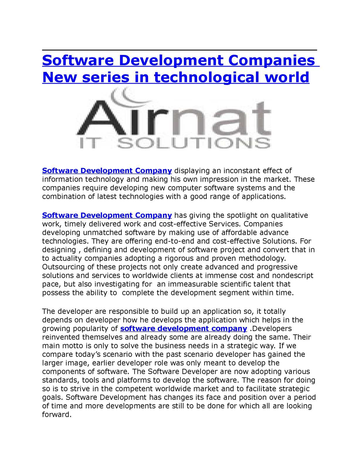 Software Developer Companies In Calaméo Software Development Companies New Series In