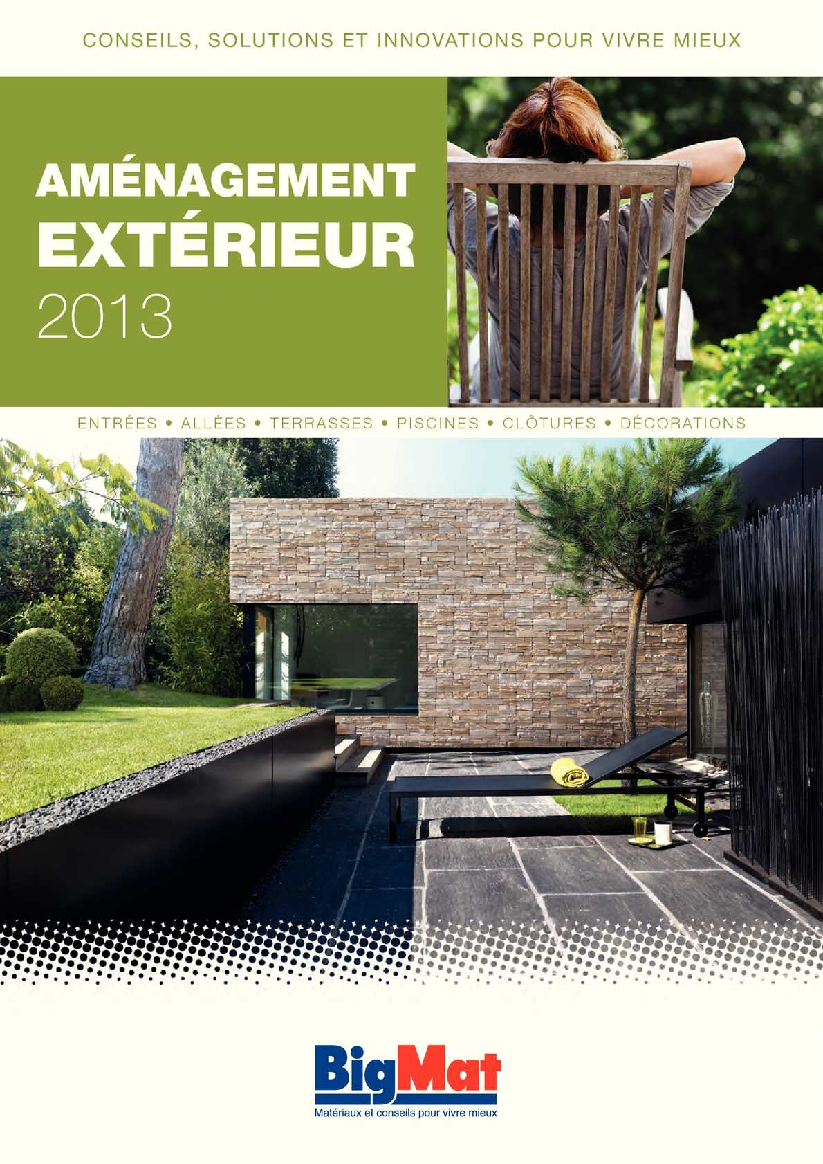Dalles De Terrasse En Beton Calaméo - Catalogue Bigmat Amenagement Exterieur 2013