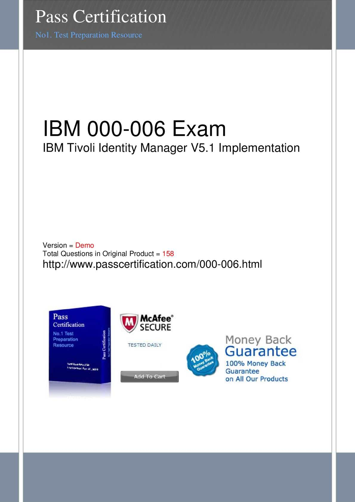 Ibm Tivoli Access Manager Tutorial Calaméo 000 006 Exam