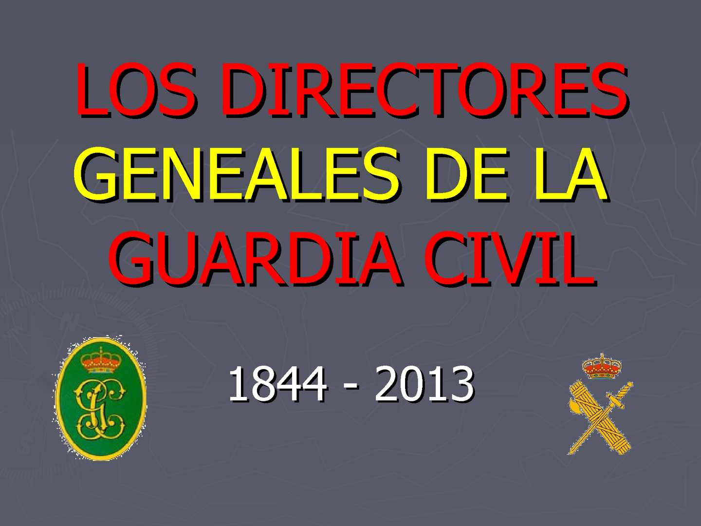 Libros De La Guardia Civil Calaméo Directores Generales De Las Guardia Civil 184 2013