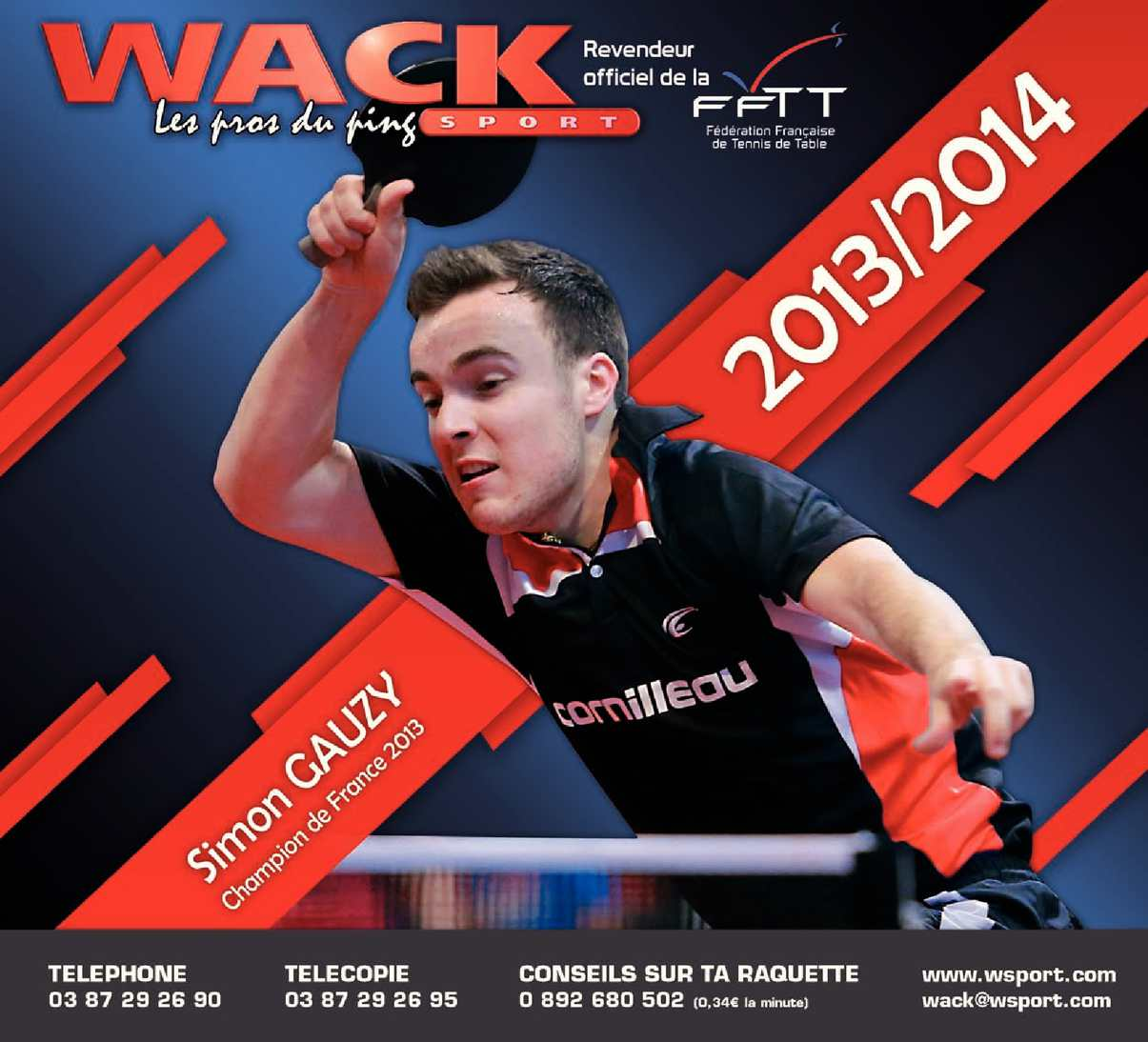 Wack Sport Tennis De Table Catalogue Wack Sport Calameo Downloader