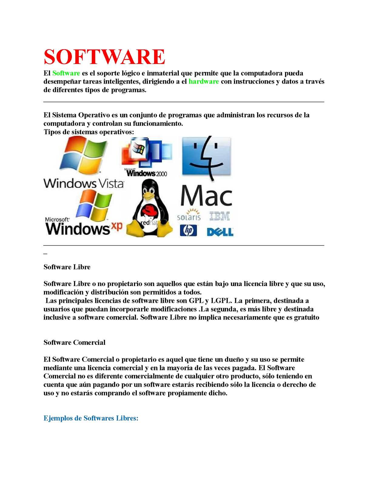 Software Libre Y Comercial Calaméo Software
