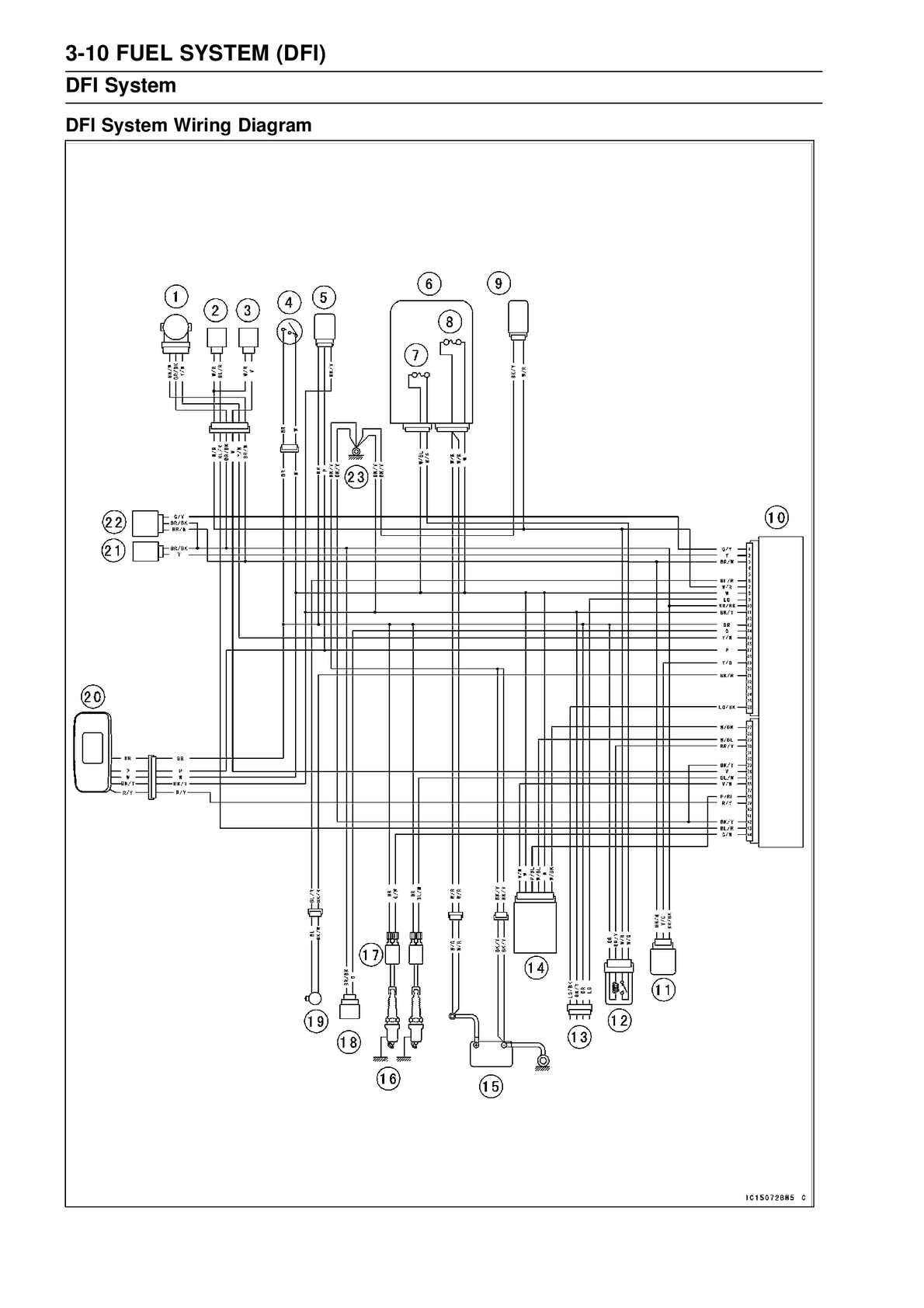 fuel system wiring diagram