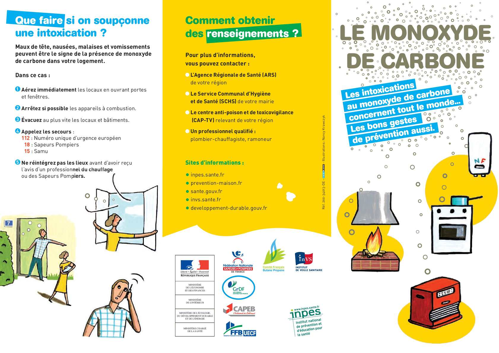 Prevention-maison.fr Calaméo Dépliant Monoxyde Carbone