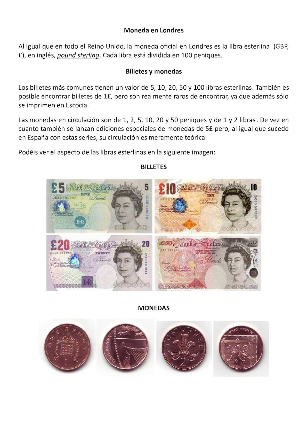 Libras Esterlinas Monedas Calaméo Monedas Inglaterra
