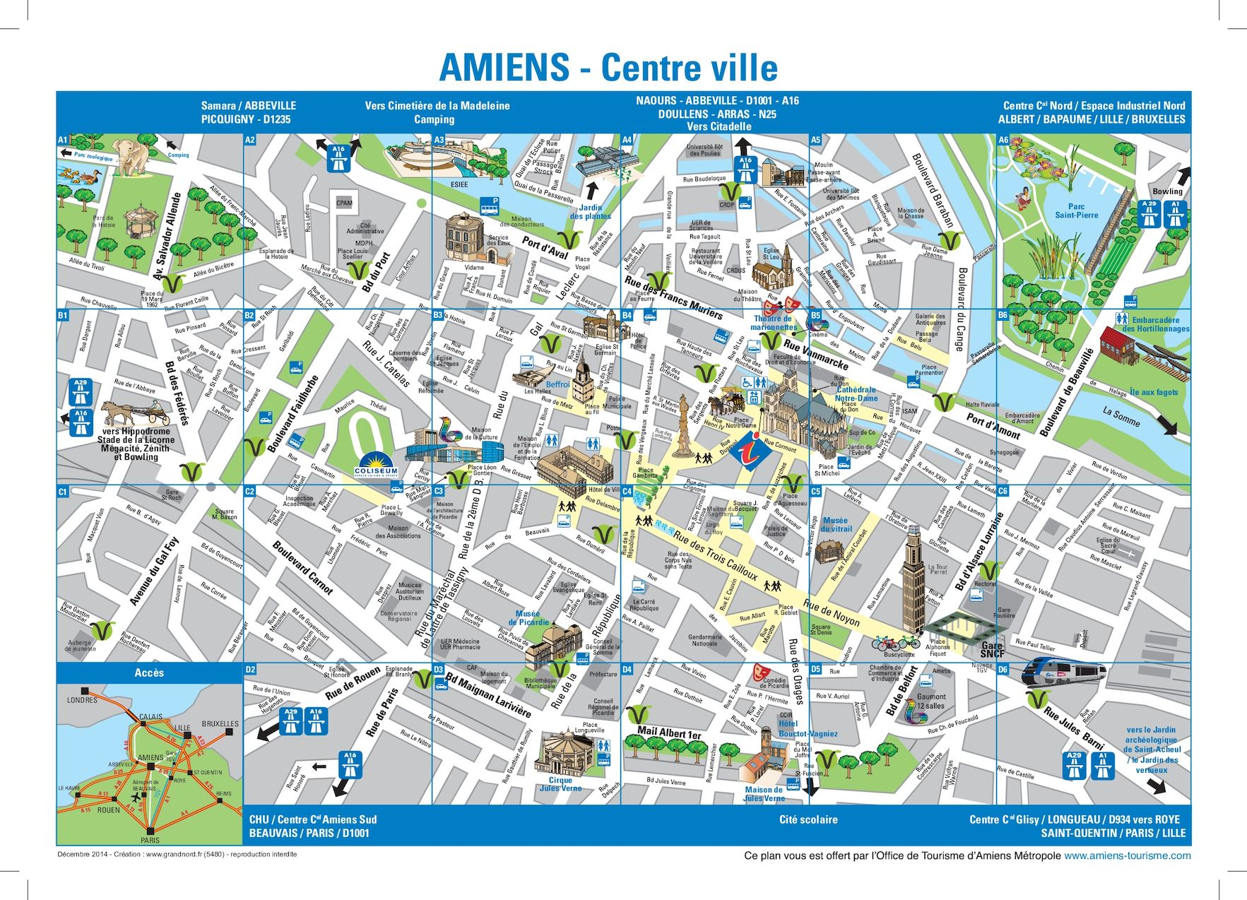 Carte Grise Rouen Calaméo Amiens City Map Centre