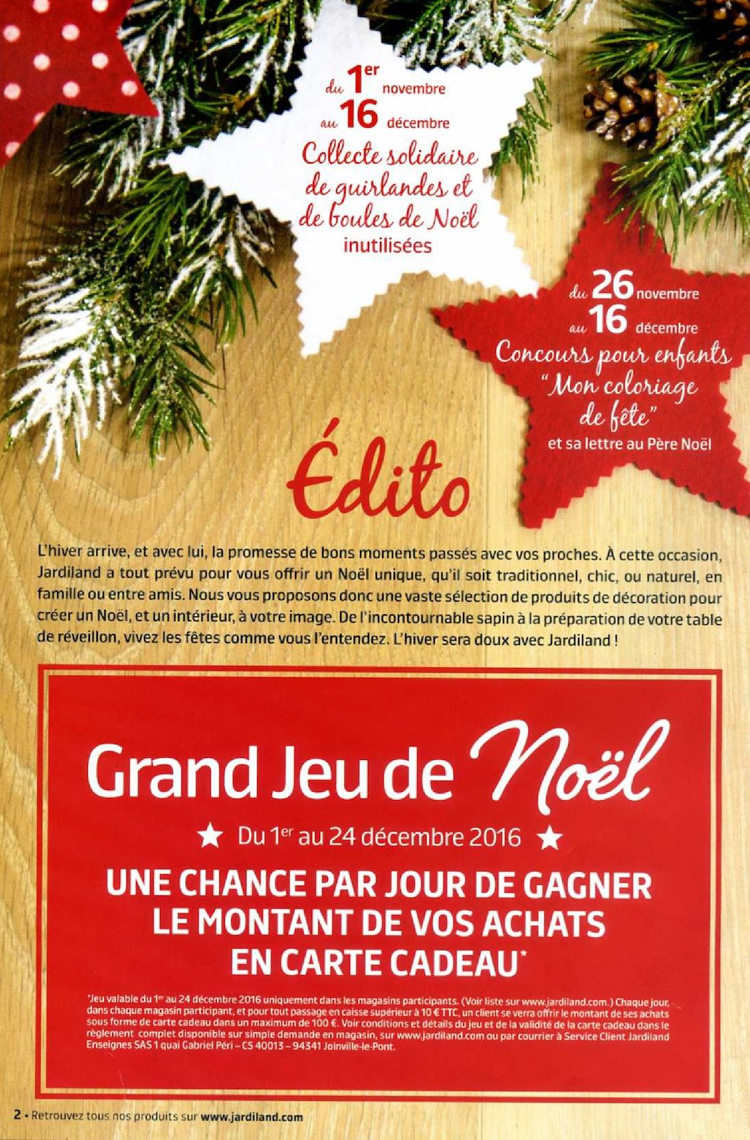Decoration De Noel Jardiland Jardiland Noël 2016 Calameo Downloader