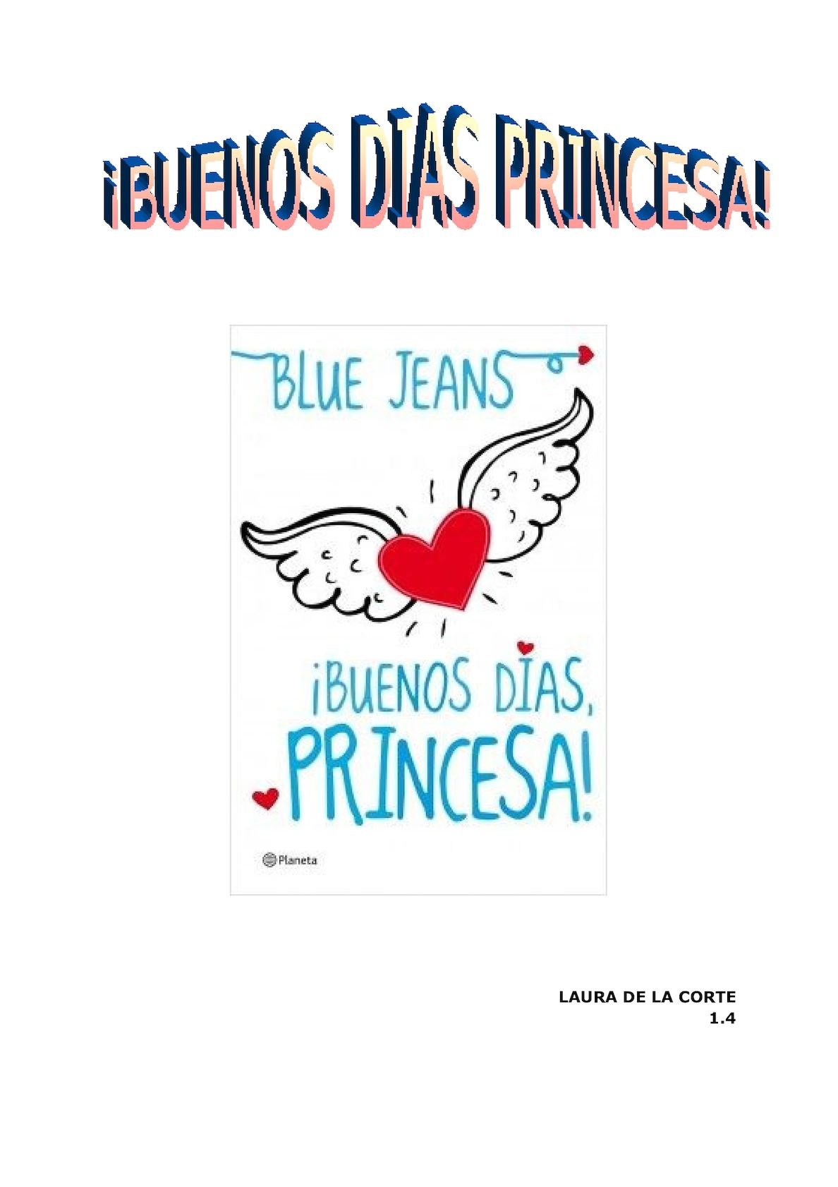 Buenos Dias Princesa Libro Completo Largest Collection Of Resumen Del Libro Buenos Dias Mi Princesa