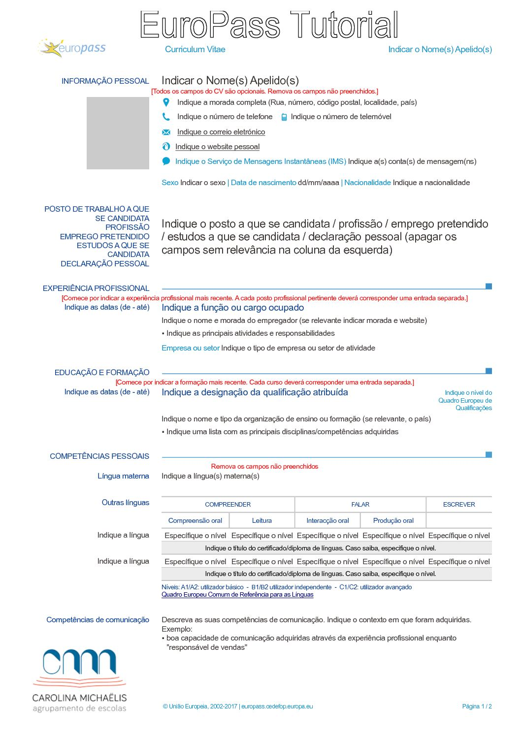 competencias para cv