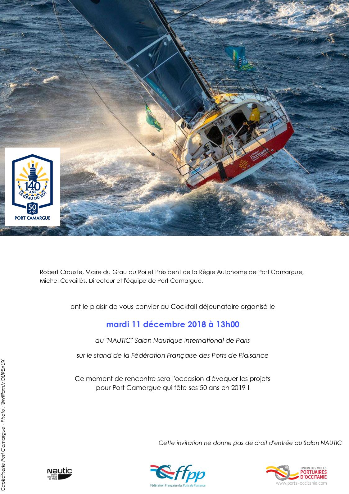 Salon Nautique International De Paris Calaméo Invit Port Camargue Nautic 11 Déc 2018