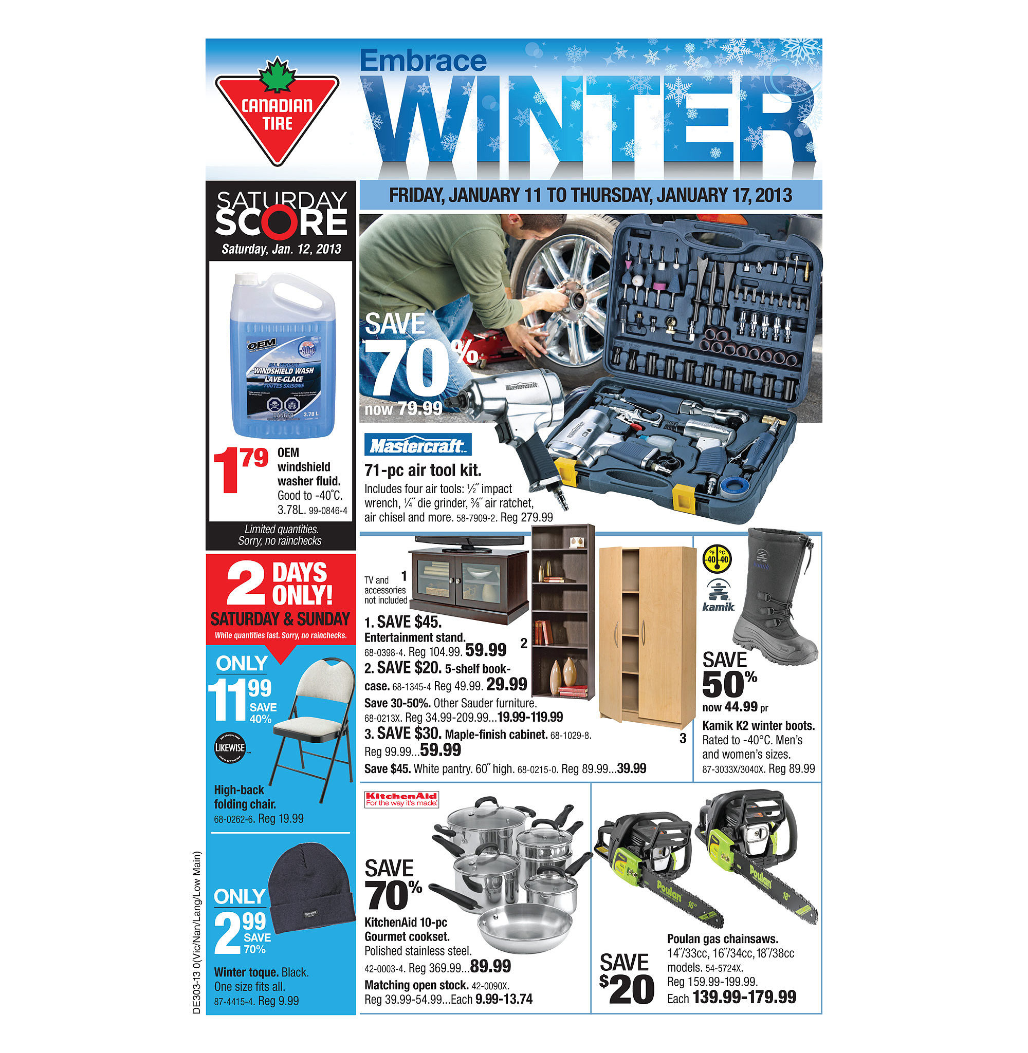 Canadian Tire Book Shelves Canadian Tire Weekly Flyer Weekly Flyer Jan 10 17