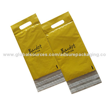 Poly bubble mailers with handle with your own design Global Sources