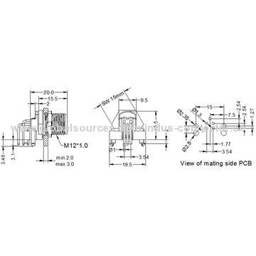 China PCB connector from Shenzhen Manufacturer Shenzhen Indus