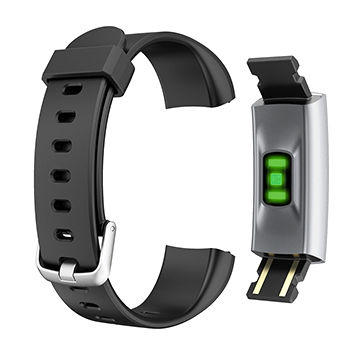 China Blood pressure monitoring watch, heart rate monitor watches