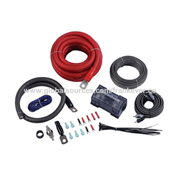 China OFC PVC Car Amplifier Wiring Kit from Hangzhou Trading Company