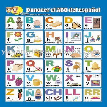 3d Wall Chart -learning Abc Global Sources