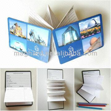 magnetic mini pocket address phone book 1MaterialMagnet+paper 2
