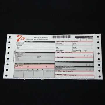 Consignment note - High Quality Air Waybill Printing with Sticker