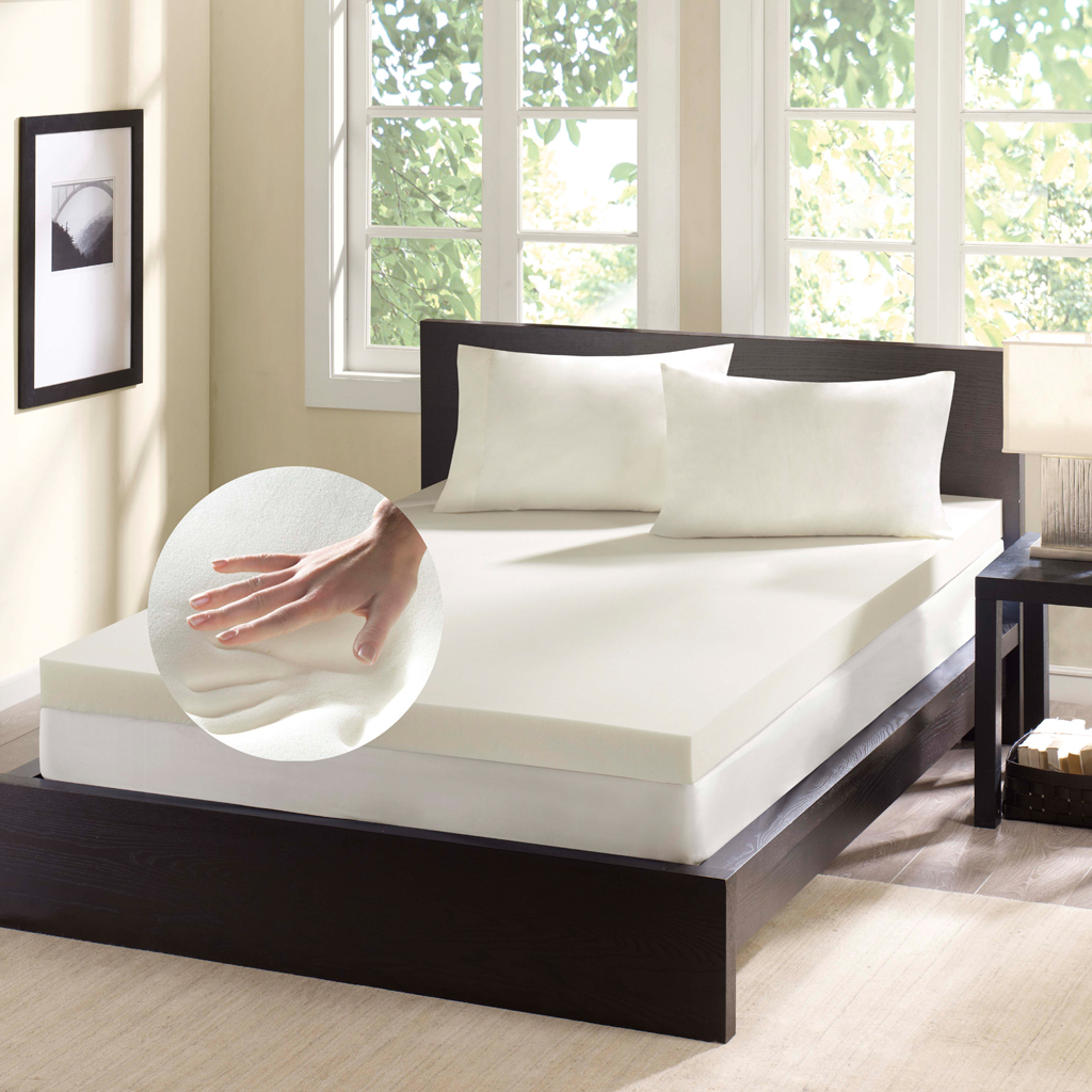 Memory Foam Mattress Toppers Flat Memory Foam Mattress Topper