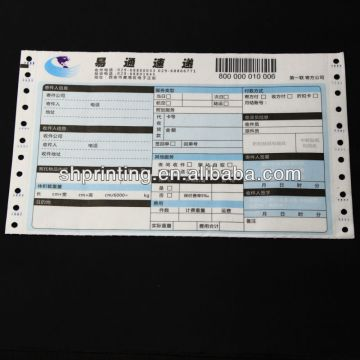Consignment note - High Quality Courier Bill Printing with Barcode