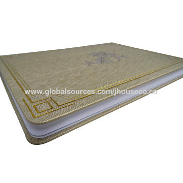 China Personal daily planners, Flower hot stamping,PU Leather cover