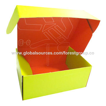 China Color box from Shanghai Trading Company Shanghai Forest Group
