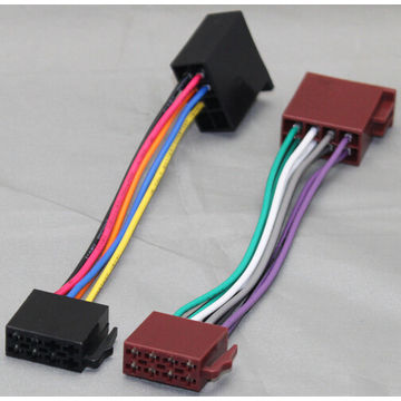 CAR RADIO VOLKSWAGEN ISO MALE TO FEMALE WIRING HARNESS VWH1002+ISO