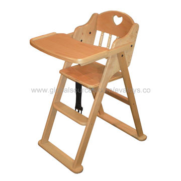 China 2013 New And Popular Wooden Baby High Chair With