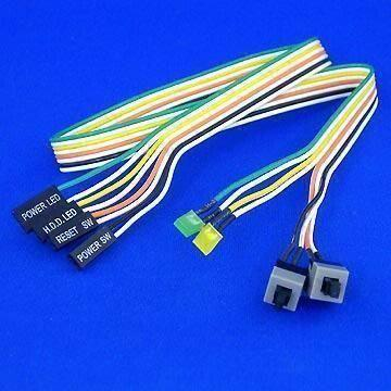 PC Case Panel Wire Harness Plus LED and Switch Global Sources