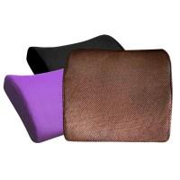 Memory Foam Seat Chair Lumbar Back Support Cushion Pillow ...