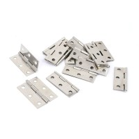 2-INCH CUPBOARD CABINET Door Folding Butt Hinges Silver ...