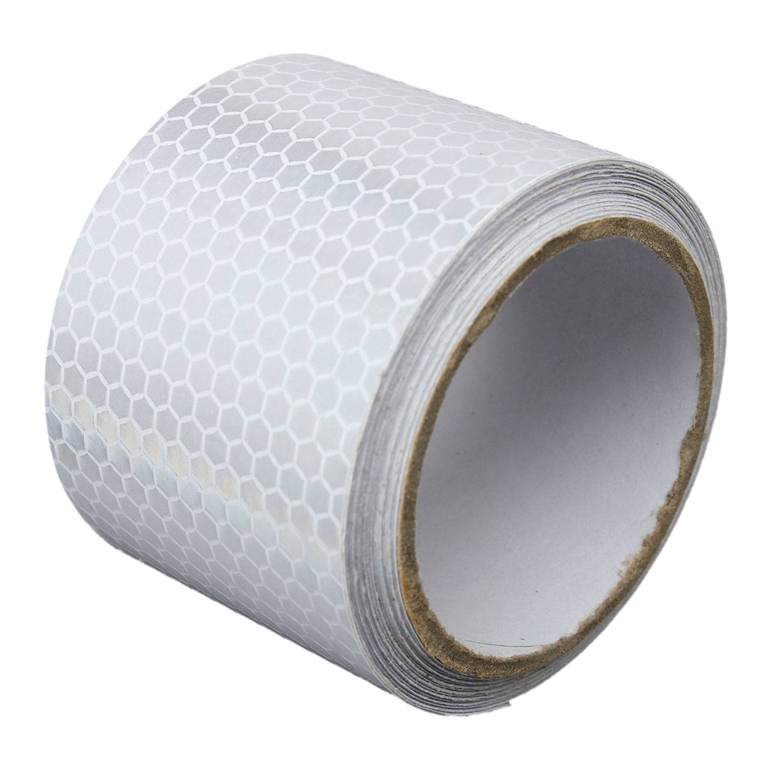 White Tape W6 5 3m Silver White Reflective Safety Warning Conspicuity