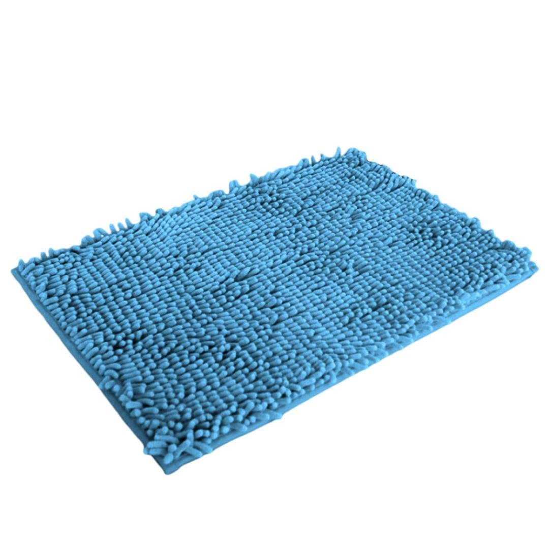 Shower Mat Soft Shaggy Non Slip Absorbent Bath Mat Bath Shower Mat 40