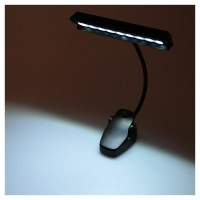 9 LEDs LED Reading Lamp Reading Light Desk Clip Lamp for ...