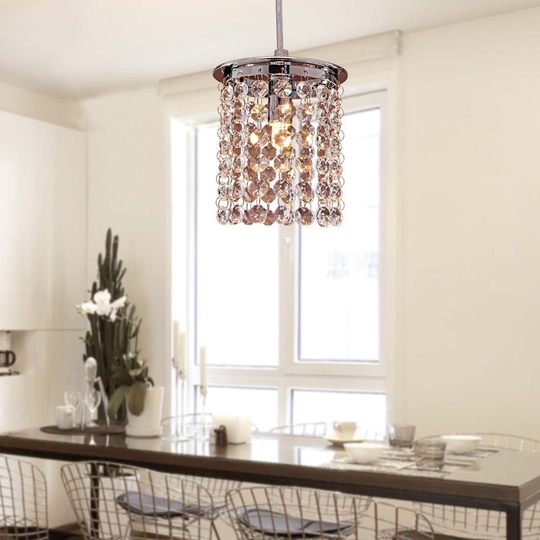 Dining Room Modern Chandelier Crystal Ceiling Light Modern Chandelier Pendant Kitchen