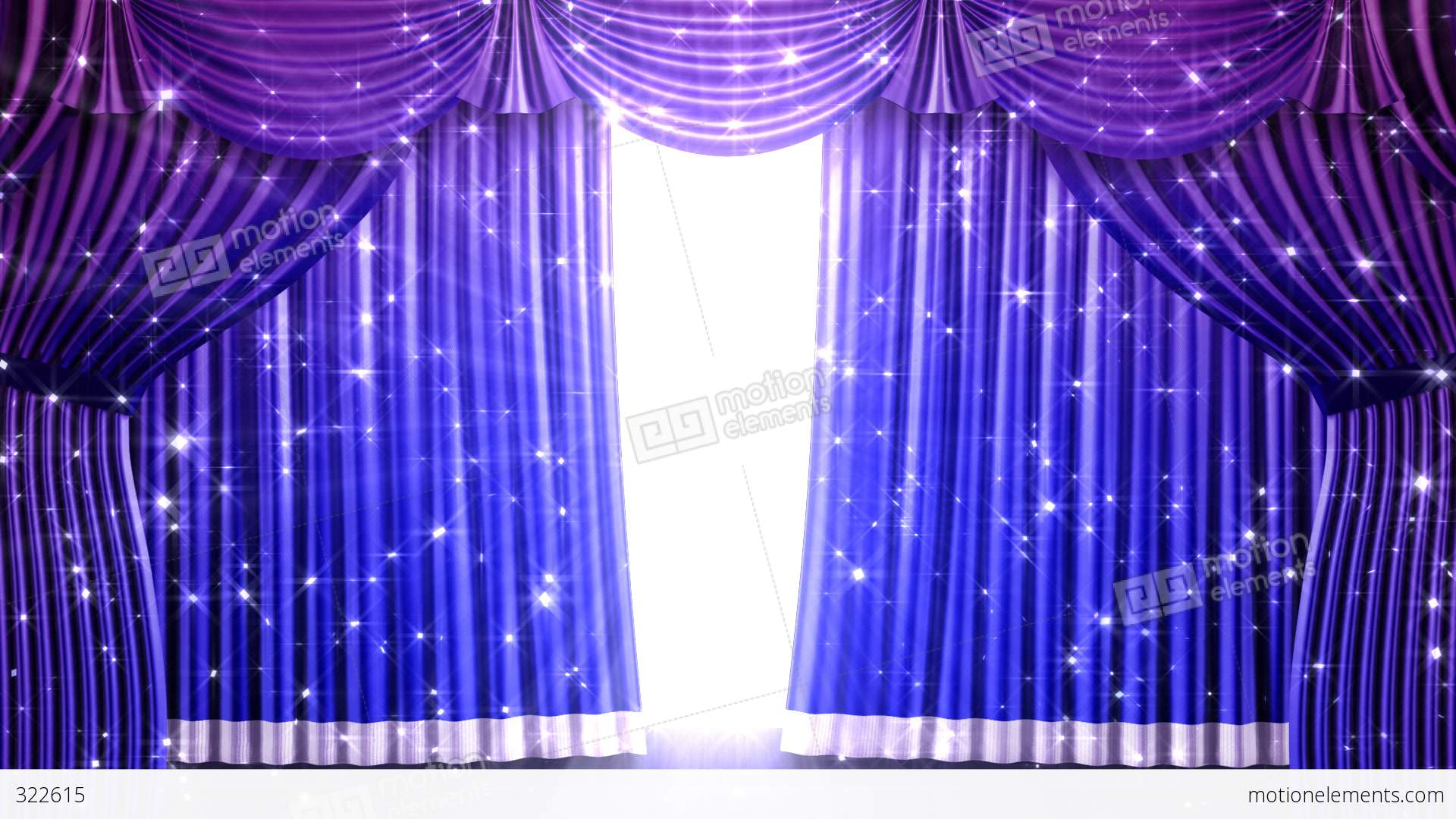 Stage curtains animation - Download