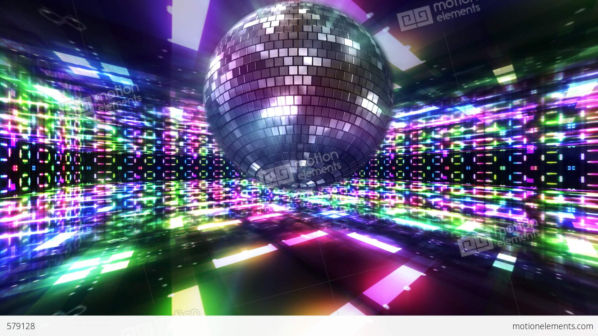 3d Animation Animals Wallpaper Disco Floor C1bs Hd Stock Animation 579128