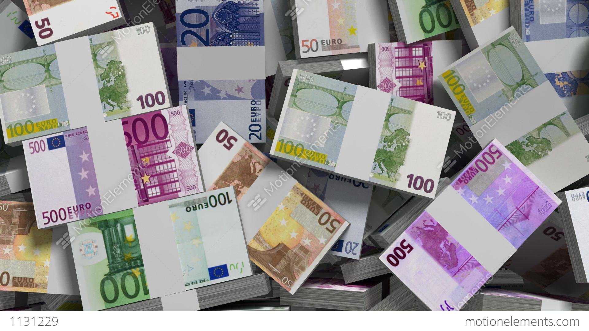 Falling Money Hd Wallpaper Making Money Euro Money Version Stock Animation 1131229