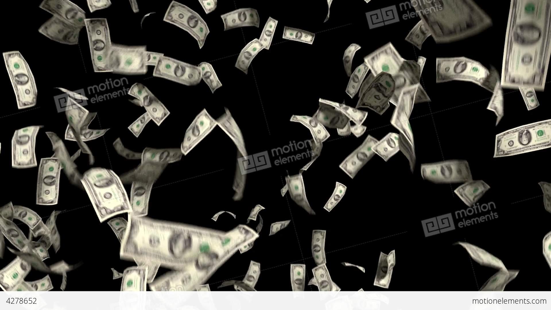 Money Falling Wallpaper Money Falling Dollars Financial Win Us Currency Ta Stock