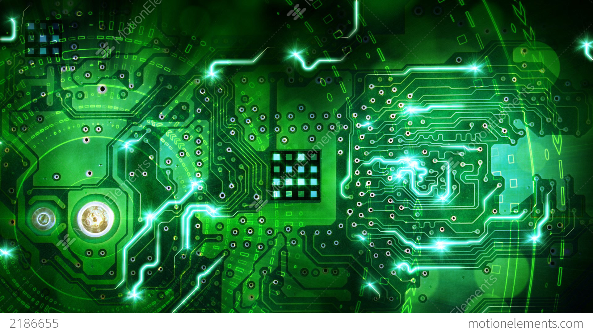 Circuit Pictures Auto Electrical Wiring Diagram Fileintegrated Circuits 4jpg Wikimedia Commons Green Computer Board Background Loop Stock