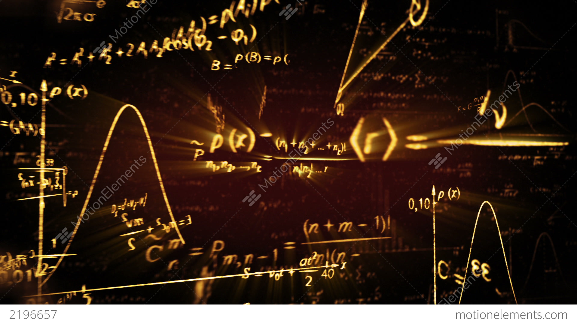3d Weather Live Wallpaper Shining Physics Maths Formulas Loop Stock Animation 2196657