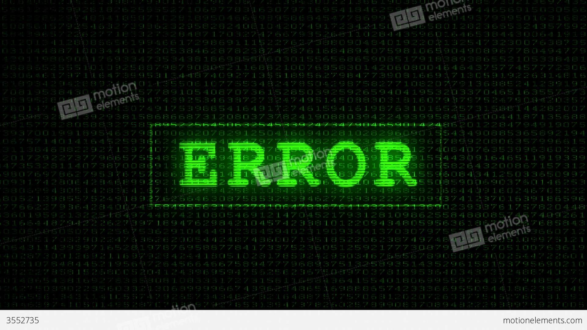 Money Wallpaper Hd Error Text Digital Data Code Matrix Stock Animation