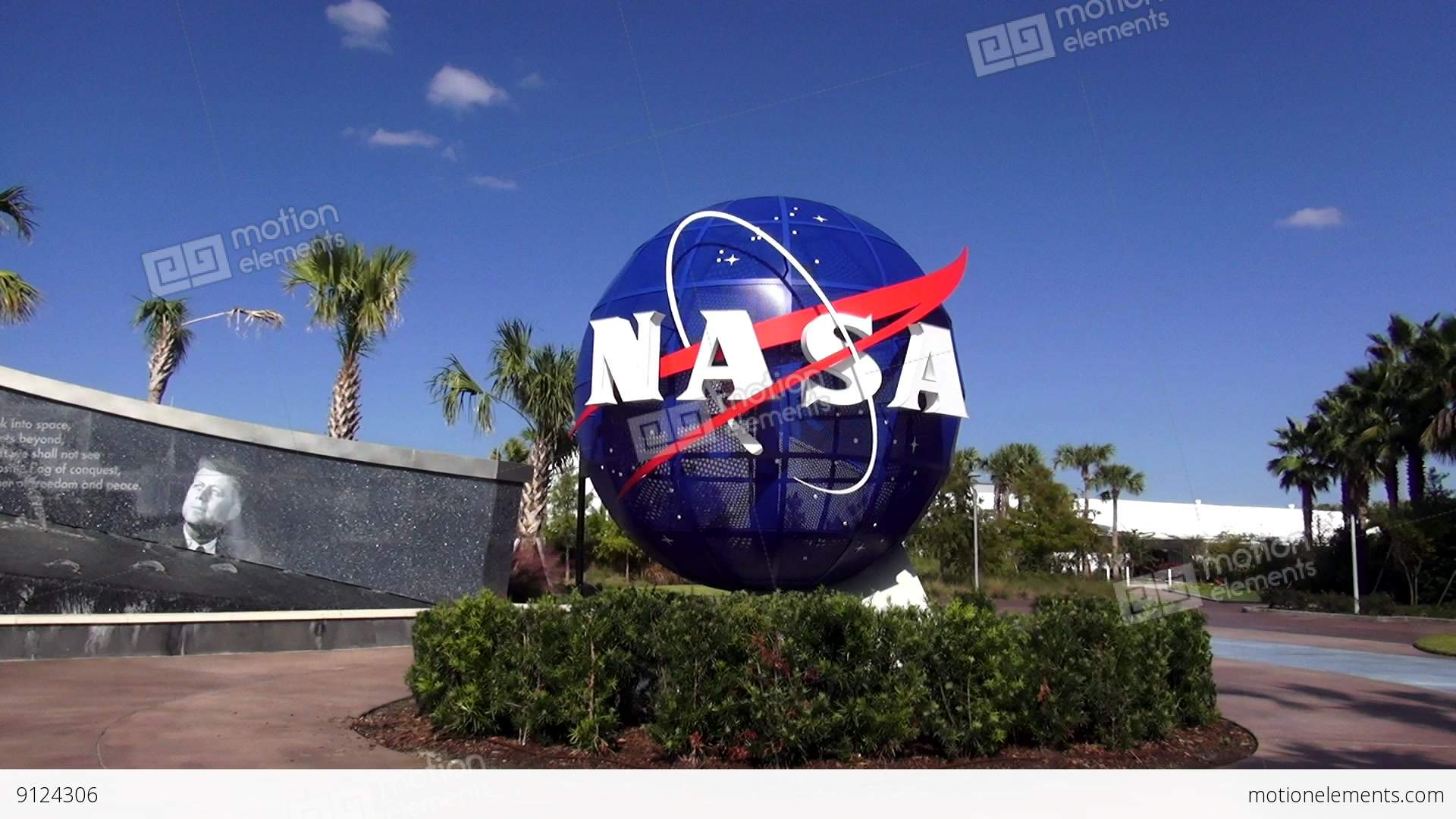 3d Weather Live Wallpaper Nasa Logo At Kennedy Space Center Cape Canaveral Cape