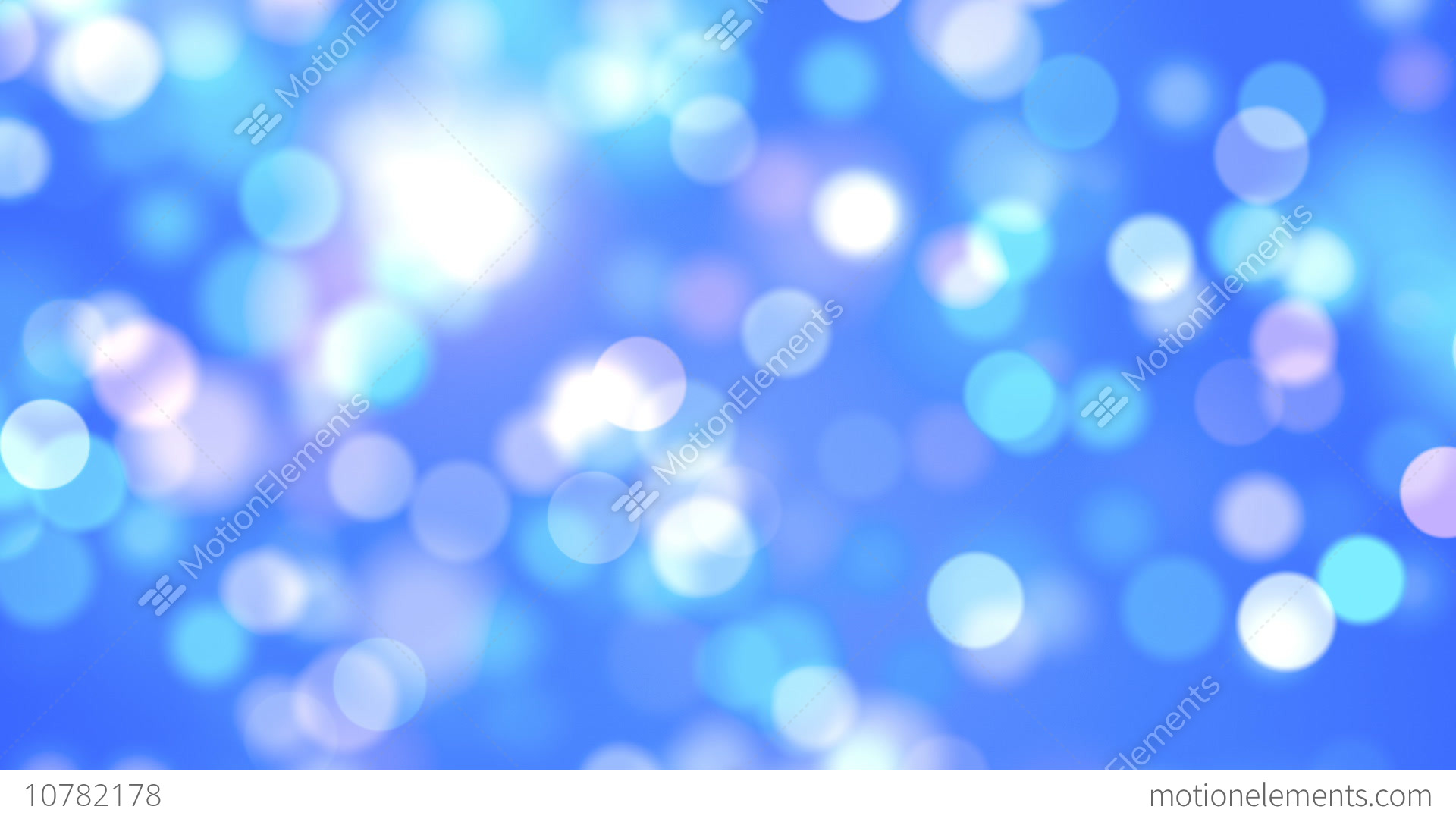 Free Cute Food Wallpaper Blue Abstract Lights Bokeh Background Loop Stock Animation