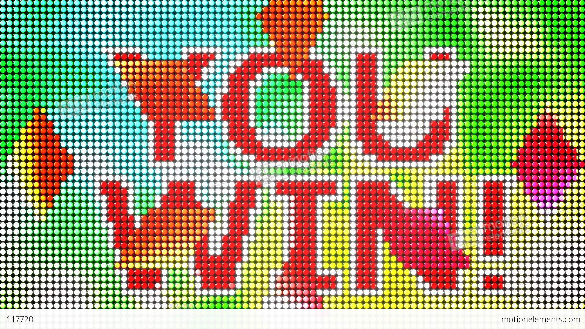 You- You Win Led Screen Loop Stock Animation 117720