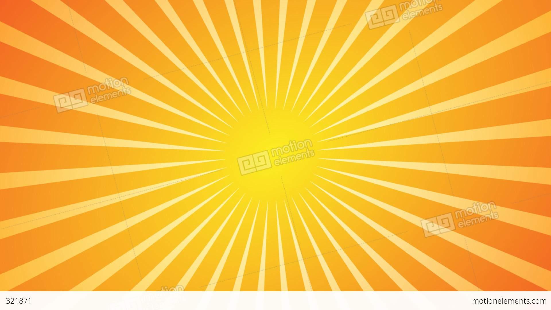 Hd Wallpapers 1080p Nature Animated Hot Sunburst Background Stock Animation 321871