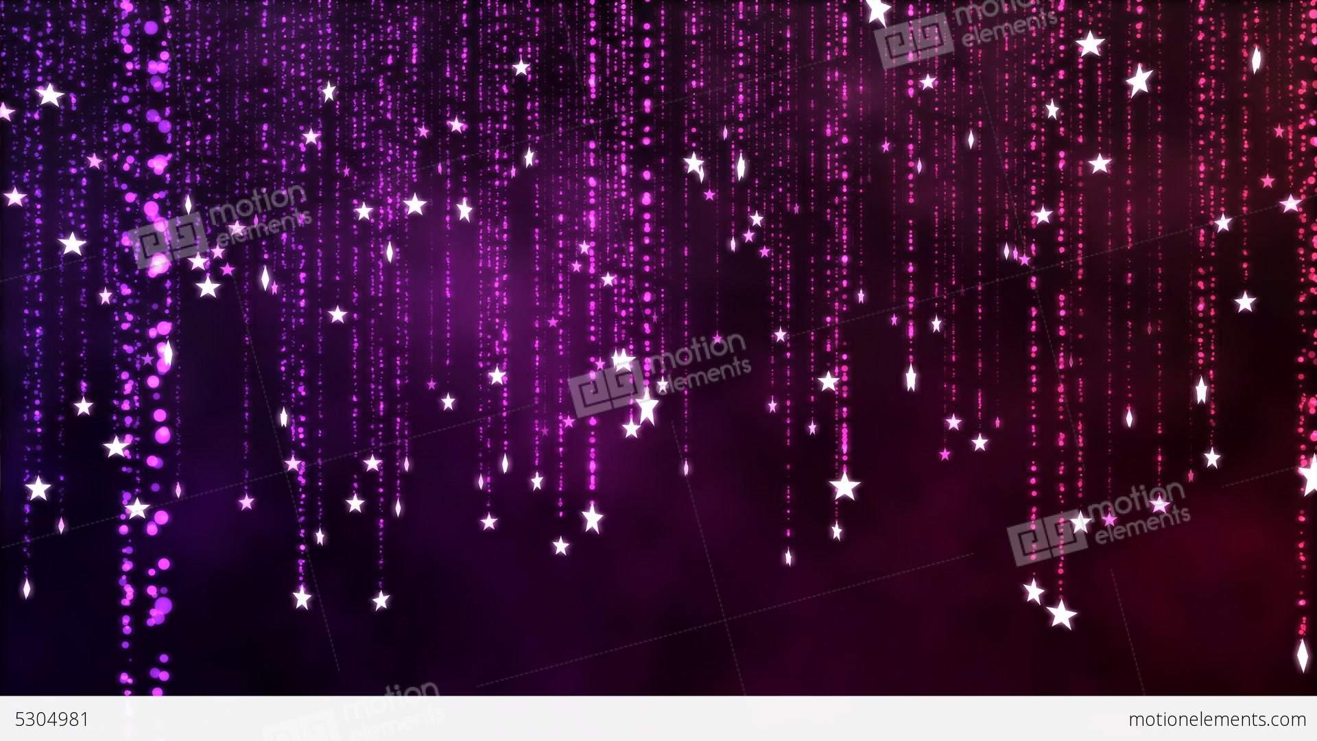 Falling Money Wallpaper Hd Glitter Stars Christmas Decoration Loop Stock Animation