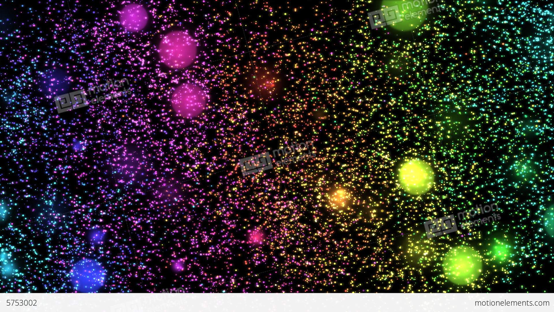 Cute Pattern Background Wallpaper Glitter And Stars Decoration Background Rainbow Stock
