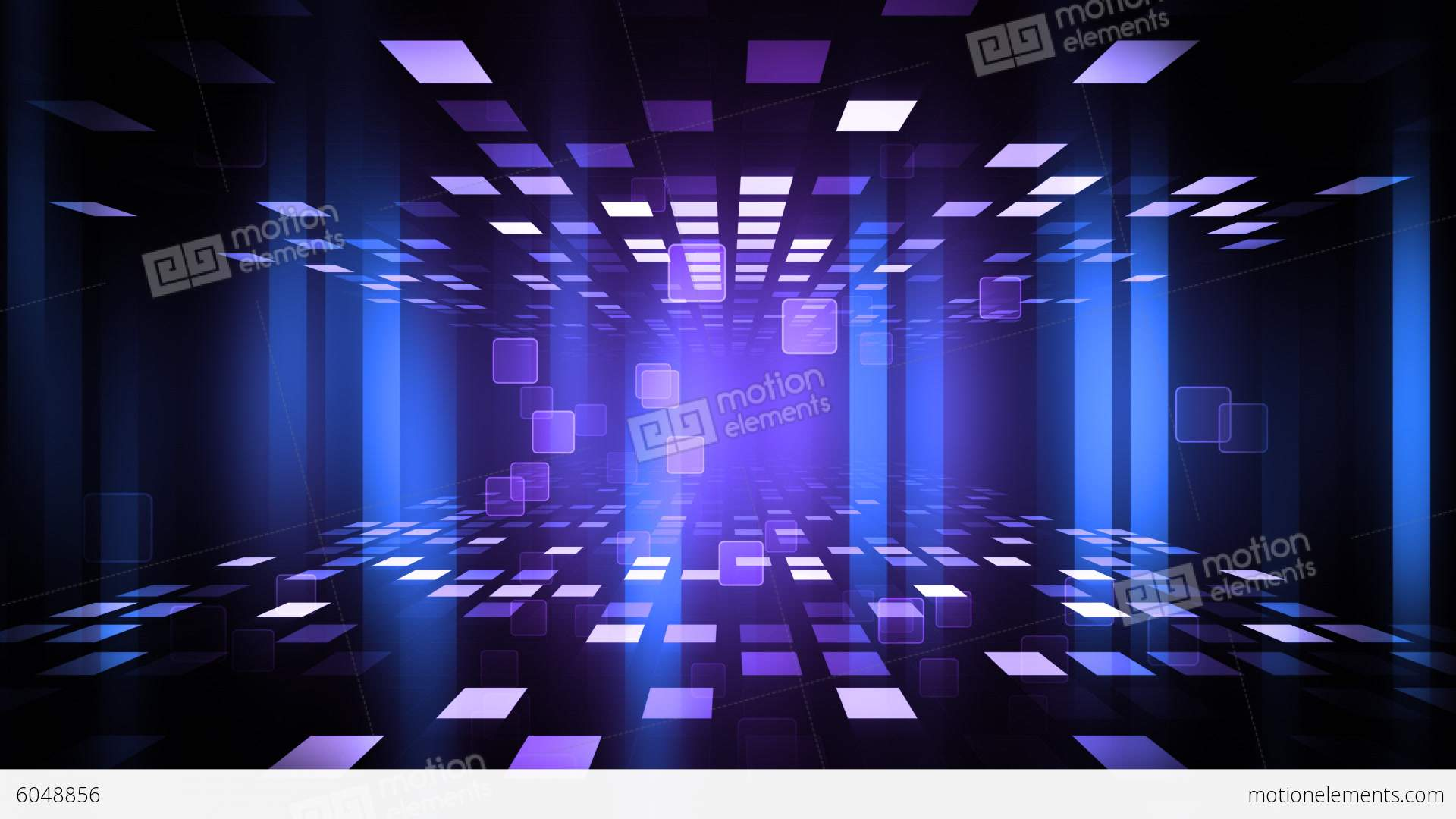 Cute Korean Animated Hd Wallpaper Night Club Dance Floor Stock Animation 6048856